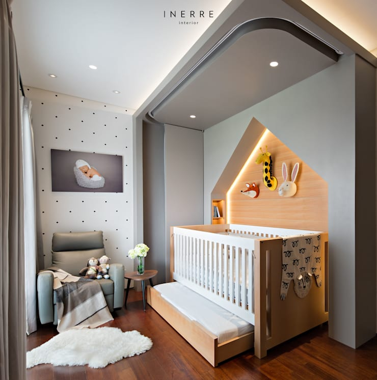 Baby room by INERRE Interior