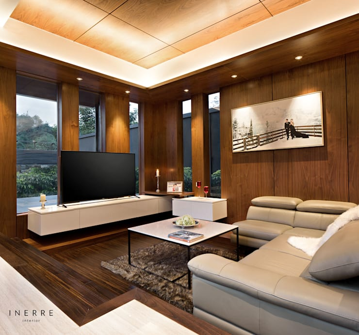 modern Living room by INERRE Interior
