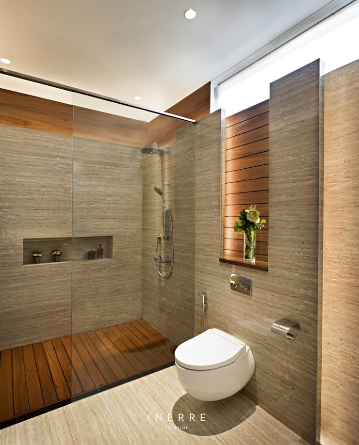 modern Bathroom by INERRE Interior