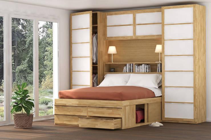 Armadio Camera Da Letto Salvaspazio : Letti salvaspazio per la camera da letto a bologna