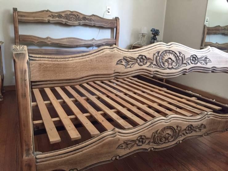 Cama reciclada: Dormitorios de estilo  por ANADECO - Decoradora y Diseñadora de Interiores - La Plata,