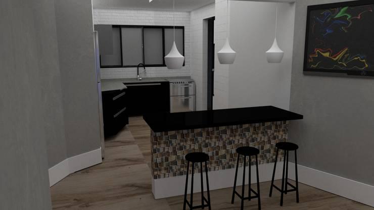 Muebles de cocinas de estilo  por STUDIO SPECIALE - ARQUITETURA & INTERIORES, Moderno Cerámico