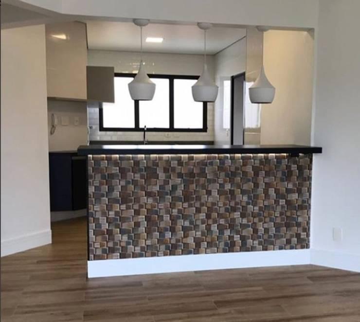 Muebles de cocinas de estilo  por STUDIO SPECIALE - ARQUITETURA & INTERIORES, Moderno Madera Acabado en madera