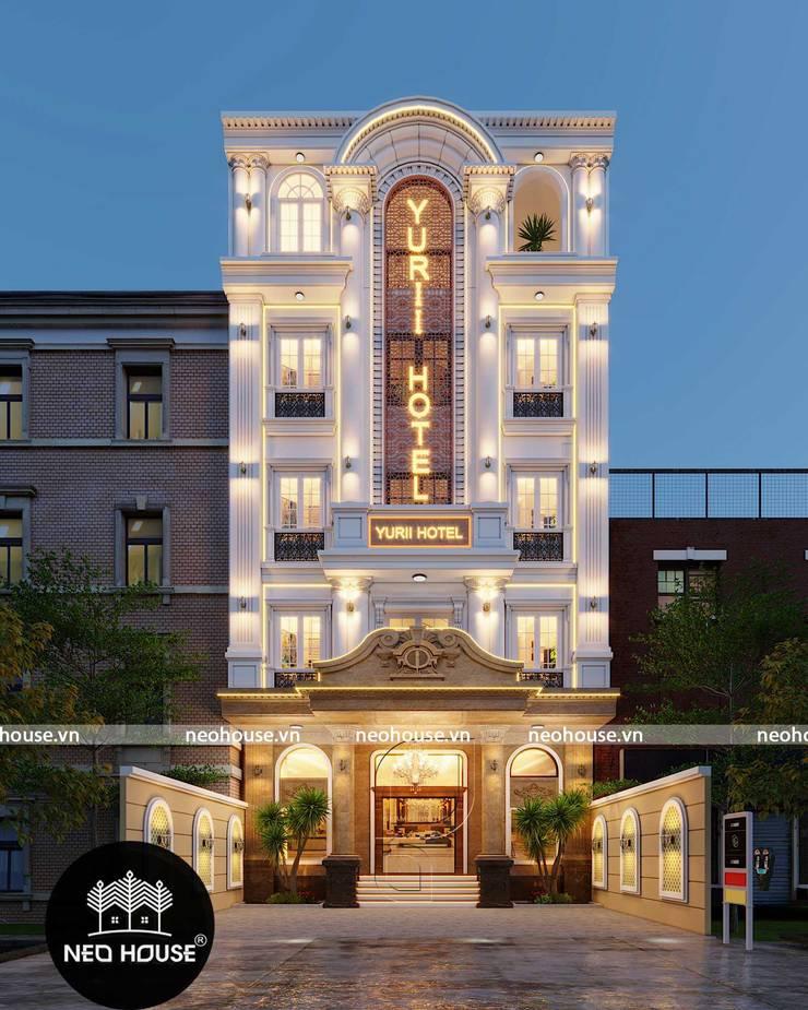 Thiết Kế Khách Sạn Yurii :  Khách sạn by NEOHouse