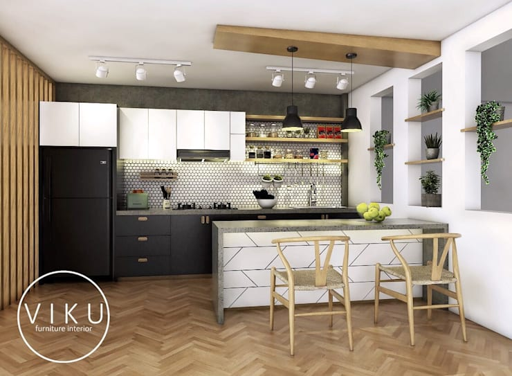 kitchen set:  Kitchen by viku