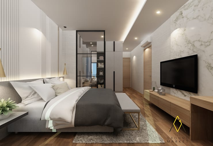 Master Bedroom:   by The Ground Market