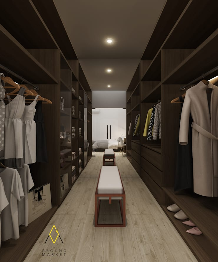 Walk In Closet:   by The Ground Market