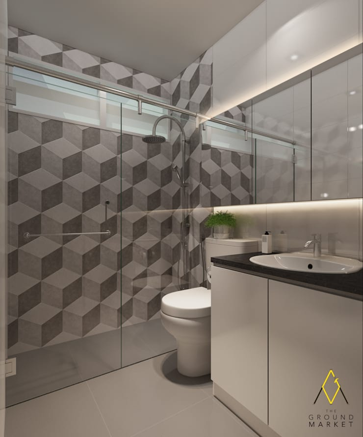 Bathroom:   by The Ground Market