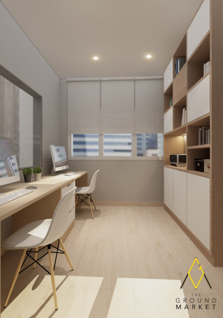 Office/ Study Room:   by The Ground Market