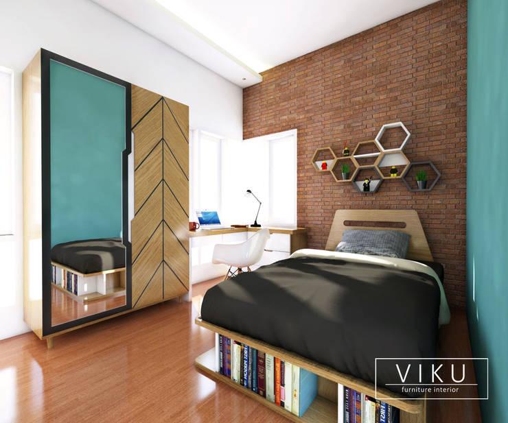 Bed room / Kamar tidur:  Bedroom by viku