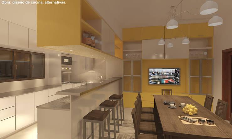 Proyectos de Cocinas por Manuel Vilte: Cocinas a medida  de estilo  por Arquitecto Manuel Daniel Vilte
