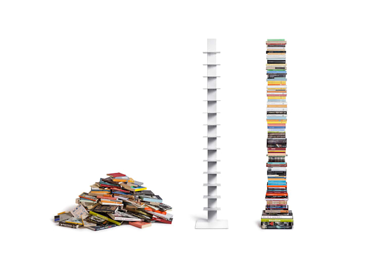 Libreros Sintesi: Salas de estilo  por BMAA
