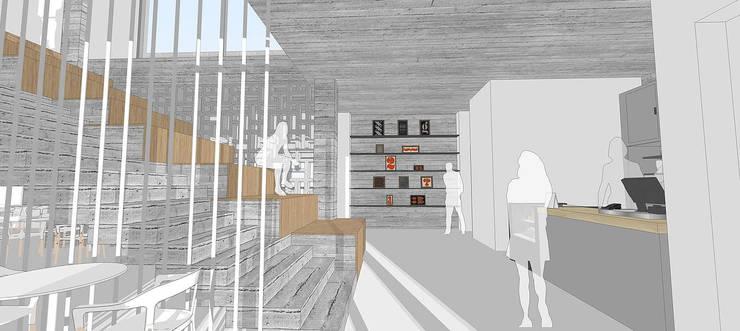 Jungnam Brick Gallery cafe : 위즈스케일디자인의 현대 ,모던