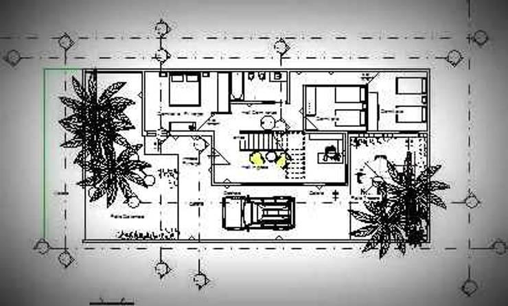 Planta Baja: Casas unifamiliares de estilo  por Arq.SusanaCruz