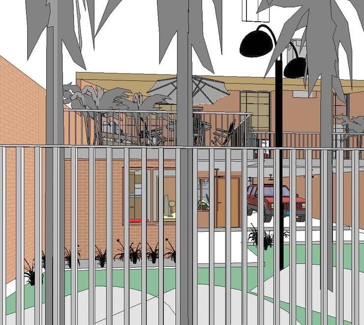 Vista desde la Reja: Casas de estilo  por Arq.SusanaCruz,