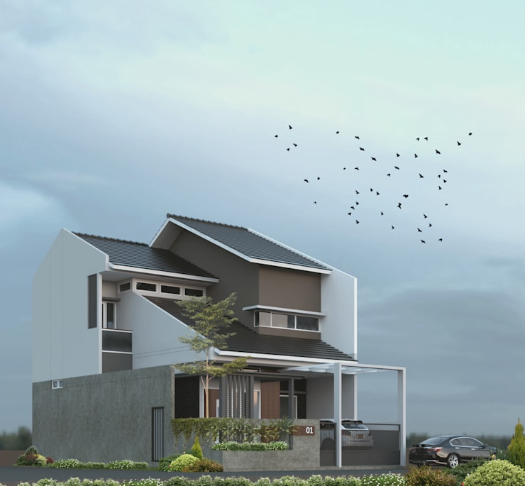 HUNIAN TROPIS PERUMAHAN:   by CASA.ID ARCHITECTS