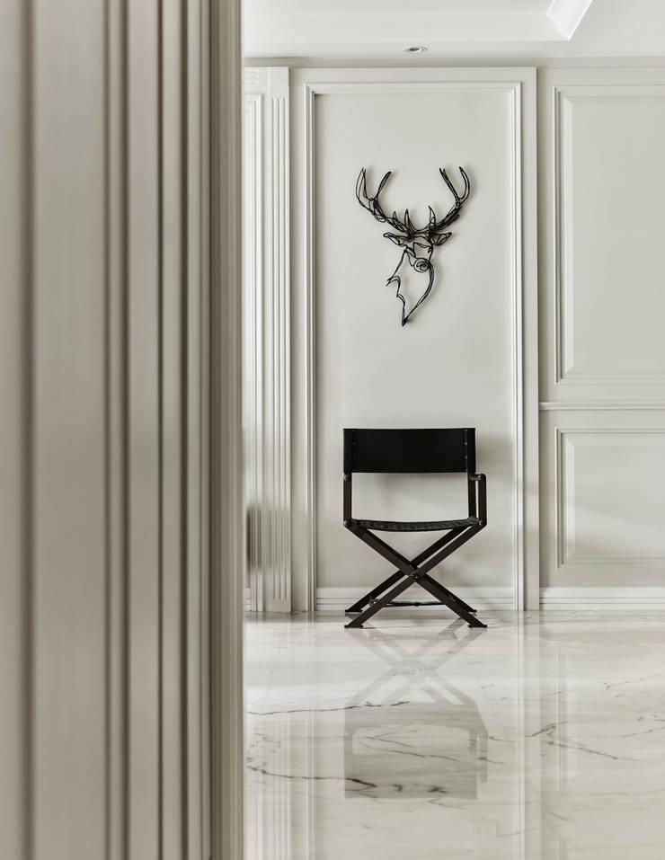 孤獨的沉澱:  走廊 & 玄關 by 耀昀創意設計有限公司/Alfonso Ideas