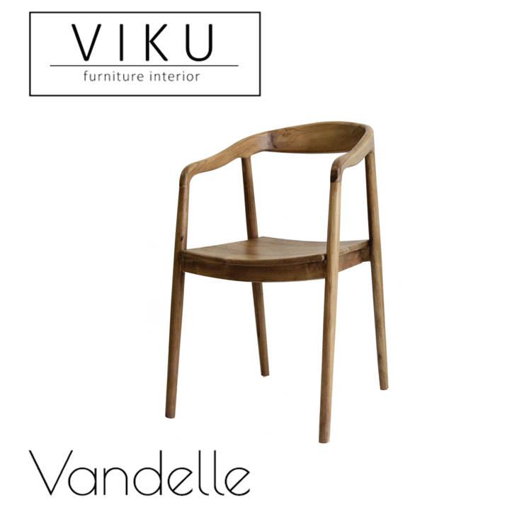 Vandelle dining chair:  Dining room by viku