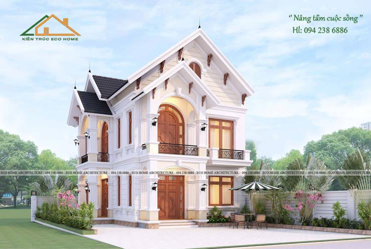 BIỆT THỰ TÂN CỔ ĐIẺN:   by Công ty CP kiến trúc và xây dựng Eco Home