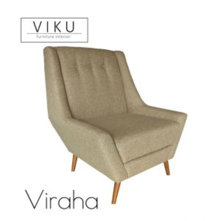 Viraha Arm Chair:  Dining room by viku