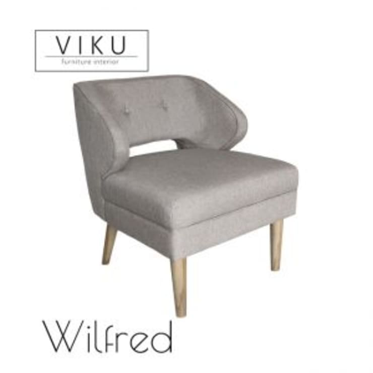 Wilfred arm Chair:  Dining room by viku