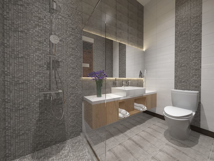Bathroom:   by Arsitekpedia