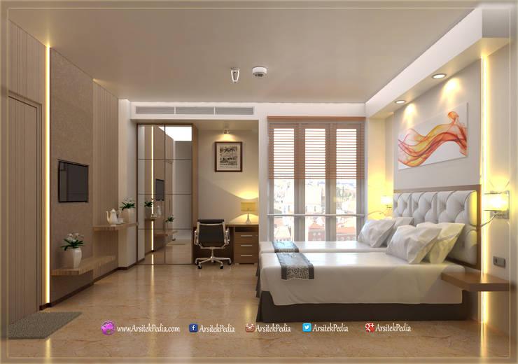 Bedroom Nanyon alt 1a:   by Arsitekpedia
