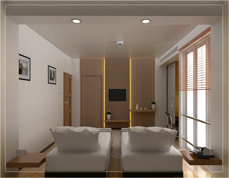 Bedroom Nanyon alt 1b:   by Arsitekpedia