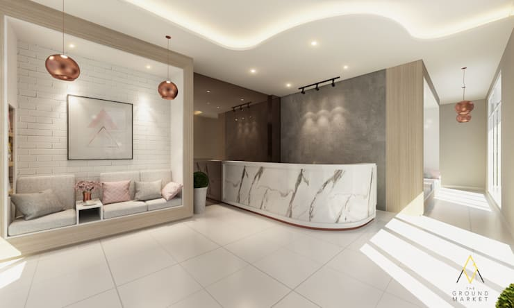 Lounge & Receptions Area:   by The Ground Market