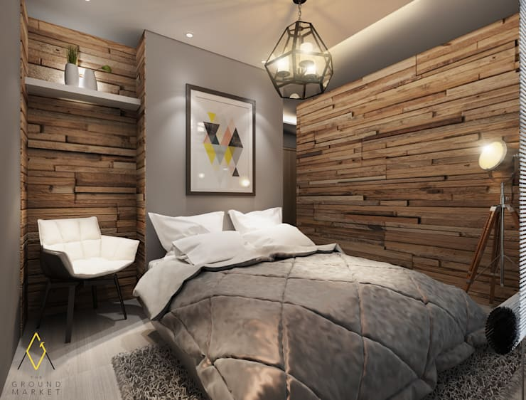 Bedroom:   by The Ground Market