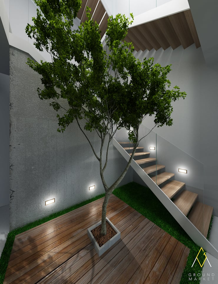 Staircase:   by The Ground Market