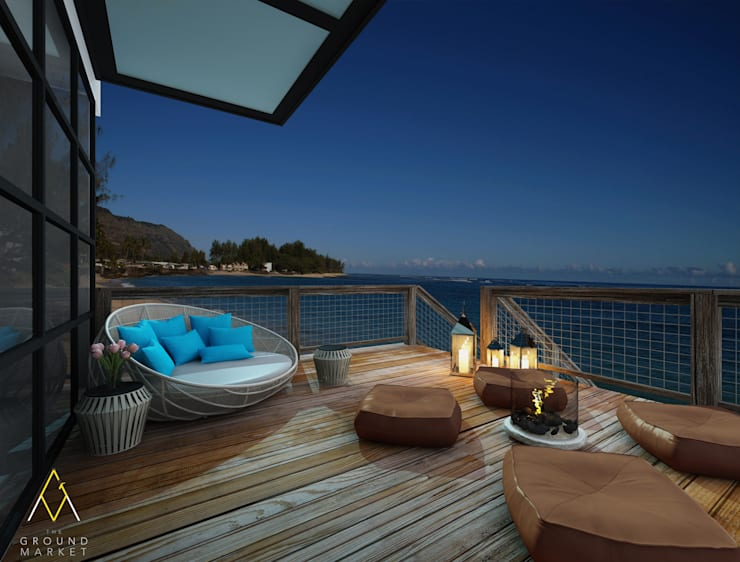Balcony on The Beach:   by The Ground Market