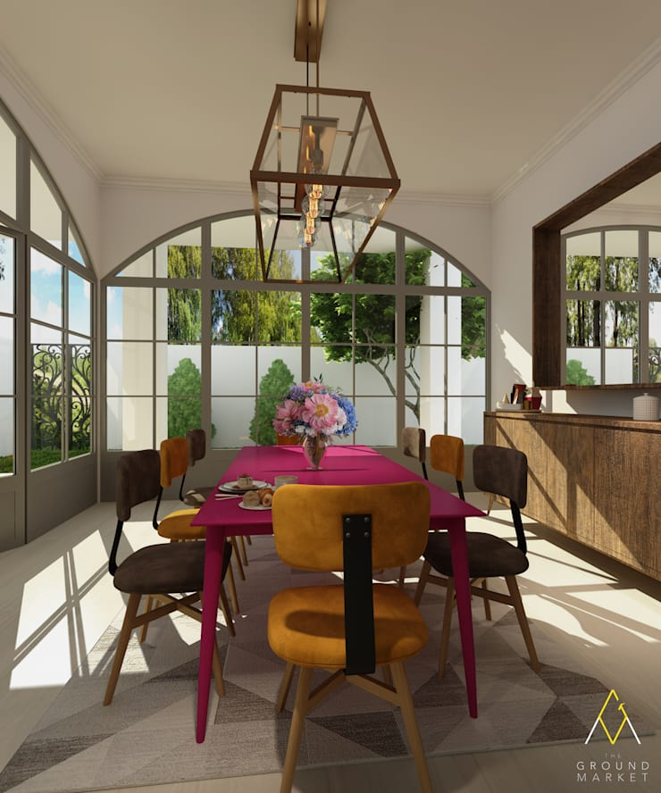 Dining Room:   by The Ground Market