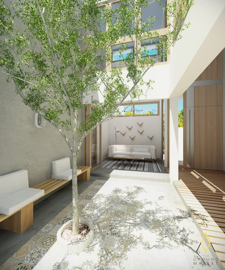 Garden and Living Room:   by The Ground Market