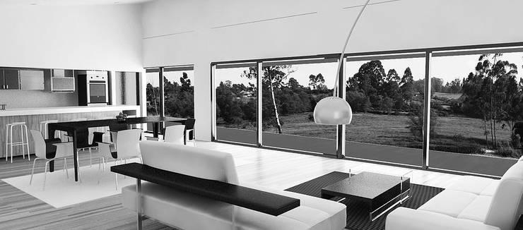 Country house by Andrés Hincapíe Arquitectos  A H A