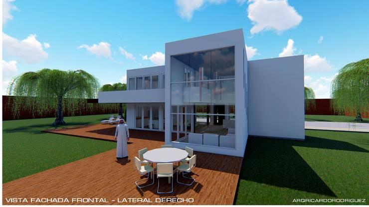 """Casa Unifamiliar Santa Elena - Antioquia:  de estilo {:asian=>""""asiático"""", :classic=>""""clásico"""", :colonial=>""""colonial"""", :country=>""""rural"""", :eclectic=>""""ecléctico"""", :industrial=>""""industrial"""", :mediterranean=>""""Mediterráneo"""", :minimalist=>""""minimalista"""", :modern=>""""moderno"""", :rustic=>""""rústico"""", :scandinavian=>""""escandinavo"""", :tropical=>""""tropical""""} por RR Arquitecto,"""