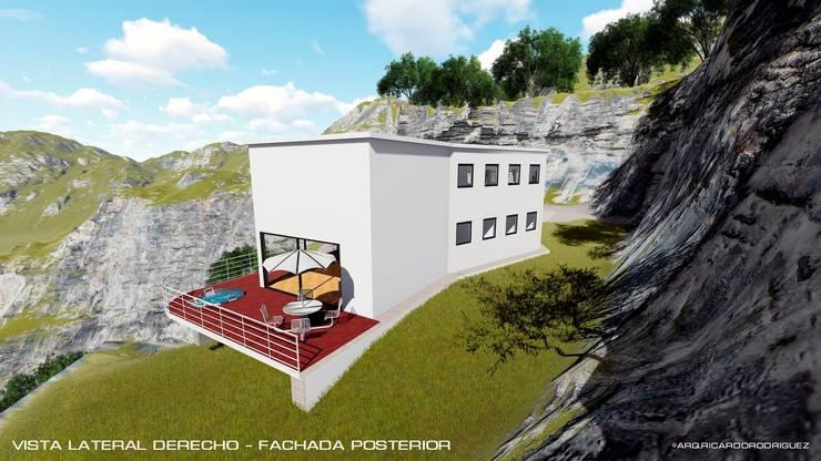 Casa Unifamiliar Envigado - Antioquia:  de estilo  por RR Arquitecto