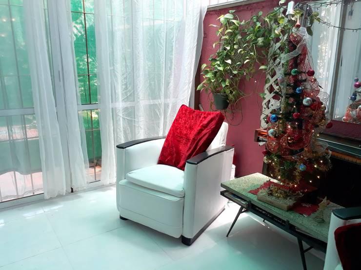 Integracion del espacio Interior con el exterior:  de estilo  por Arq.SusanaCruz
