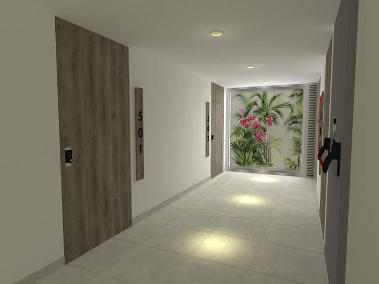 pasillos:  de estilo  por ARKLINE S A S, Moderno