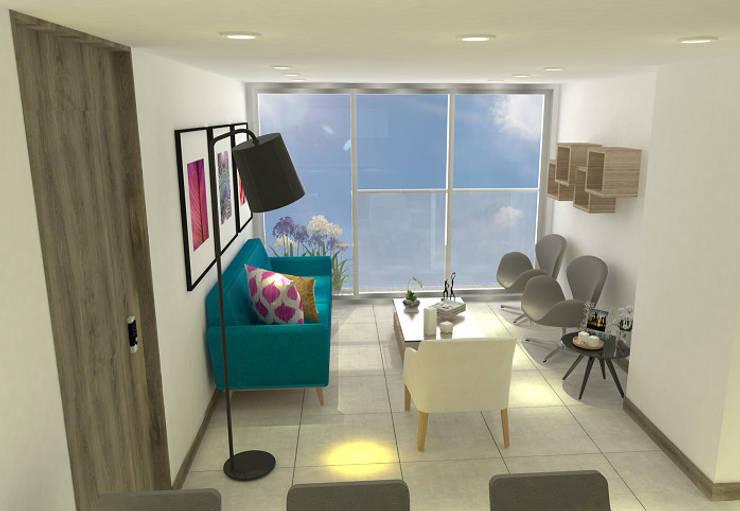 Sala:  de estilo  por ARKLINE S A S, Moderno
