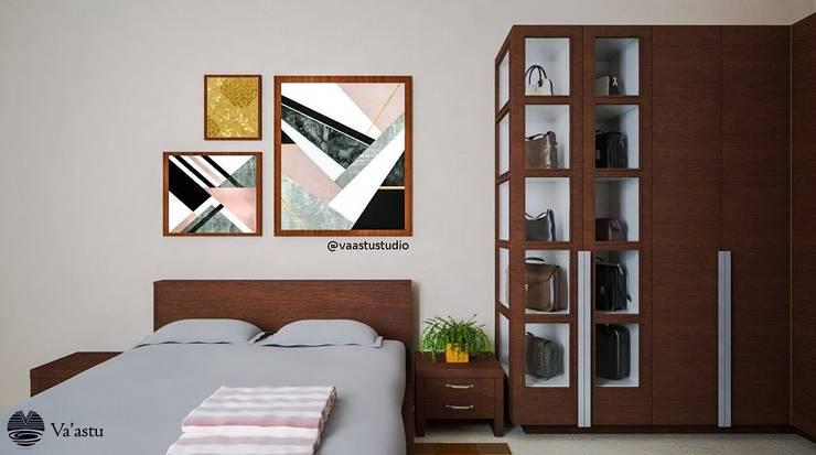 Kamar Tidur Utama :  Kamar Tidur by Vaastu Arsitektur Studio