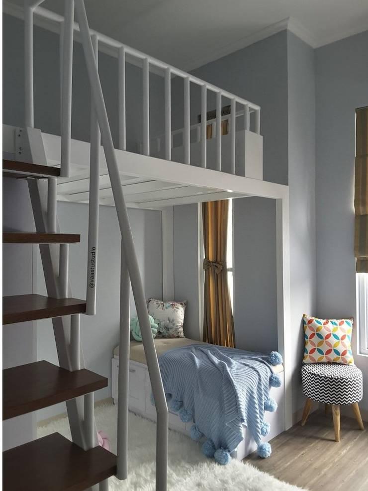 Kamar Tidur Kakak:  Kamar Tidur by Vaastu Arsitektur Studio