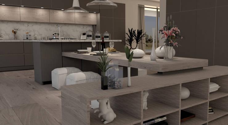 CUCINA MODERNA von Lambda Design | homify