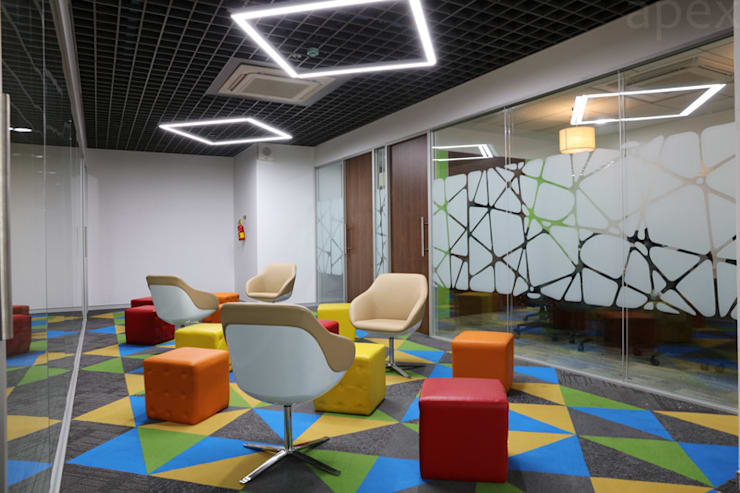 SBI Cards:  Commercial Spaces by Apex Project Solutions Pvt. Ltd.