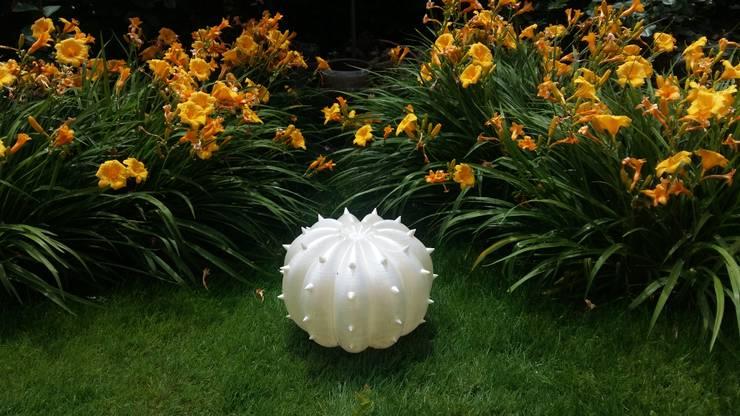 Echinocactus modello per esterni, finitura perlata: Giardino in stile  di SeFa Design by nature