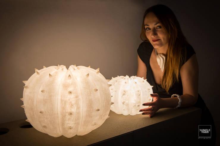 Desert Light modello Echinocactus , misure S e M: Casa in stile  di SeFa Design by nature