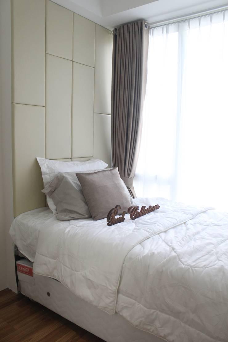 Apartemen Landmark II - Tipe  2 Bedroom (Design I):  Kamar Tidur by POWL Studio