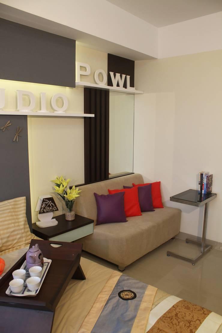 Sofa :  Bedroom by POWL Studio