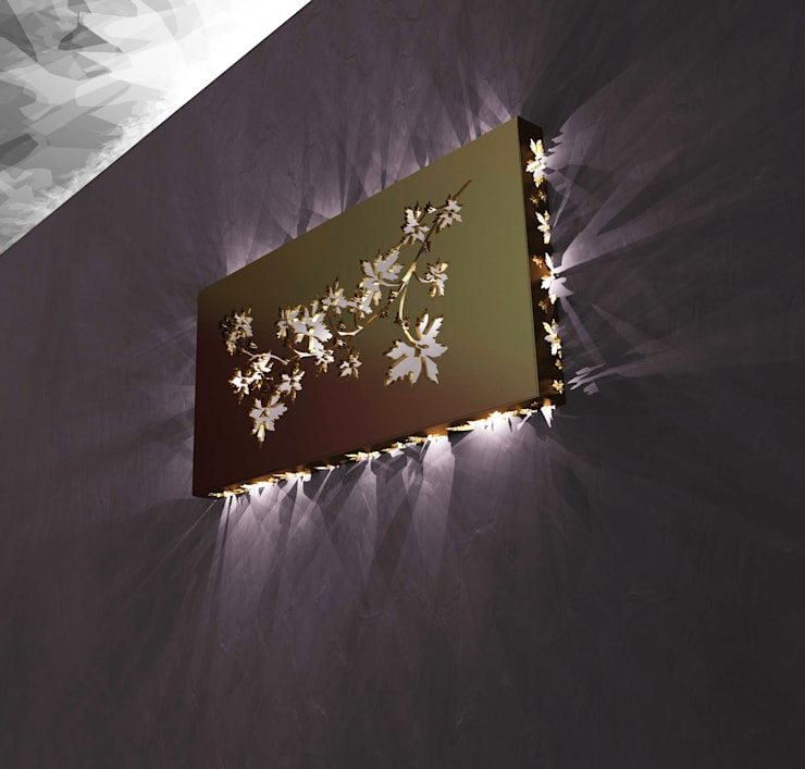 Chinese Shadows:  in stile  di SeFa Design by nature, Eclettico Rame / Bronzo / Ottone