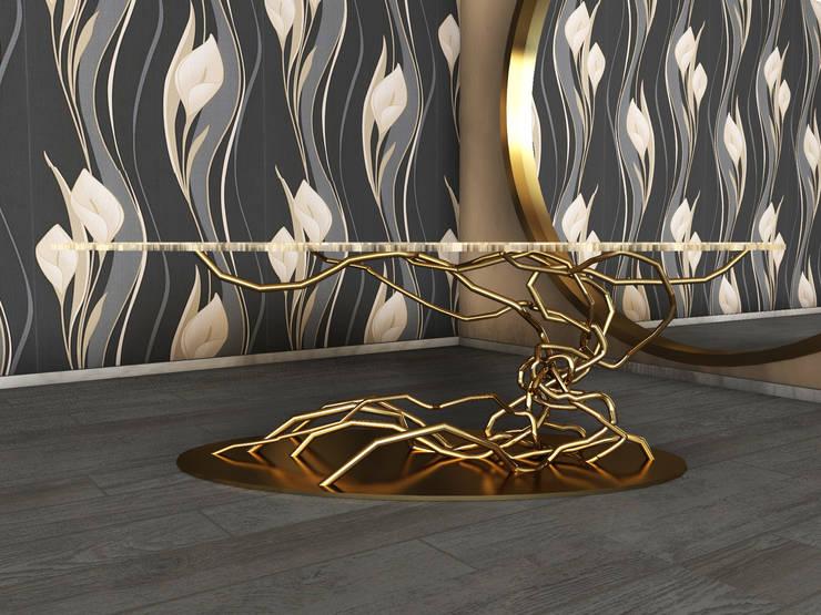 Bonsai table: Soggiorno in stile  di SeFa Design by nature